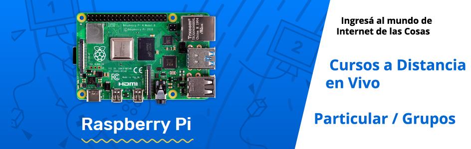 cursos online de Raspberry Pi
