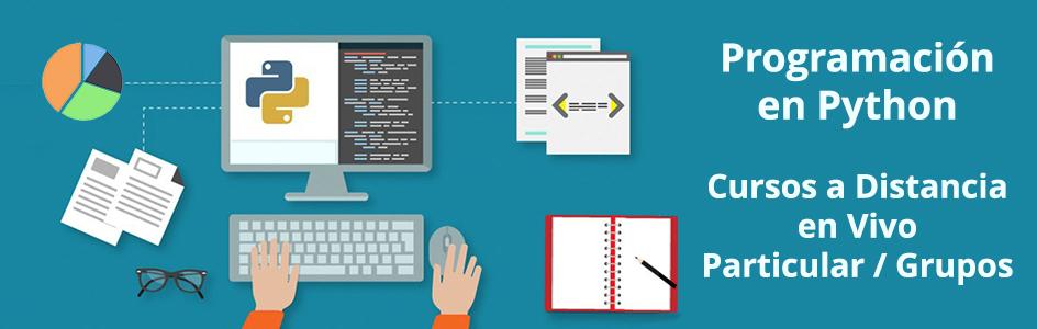 cursos online de programación en Python
